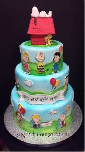 snoopy cakes charming brown cake between the pages