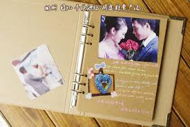 Scrapbook Wedding Album Diy Scrapbook Wedding Photo Album Retro Personalized Leather Album
