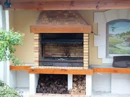 barbecue cuisine d été cuisines d été en briques barbecues argentins