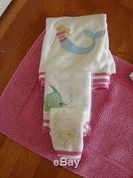 Pottery Barn Kids Mermaid Shower Curtain Barn Kids Pink Mermaid Shower Curtain 3 Towels Bathmat Gorgeous