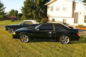 92 ford mustang gt for sale 1992 ford mustang gt black 5 speed black black interior mustang