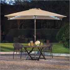 Solar Patio Umbrella 11 Foot Patio Umbrella With Solar Lights Home Outdoor Decoration