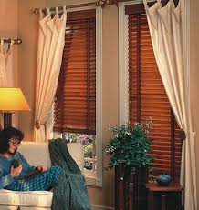 Drapes With Matching Valances Curtains To Go With Wood Blinds Decorating Style Pinterest