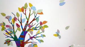 stickers arbre chambre bébé un univers pour grandir en douceur mes doudoux et compagnie