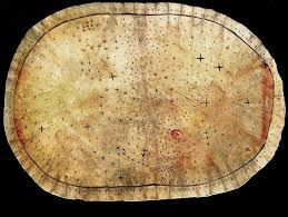 Pawnee Oklahoma Map Pawnee Star Chart C 17th 19th Century This Celestial Chart On