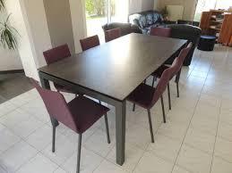 Table De Cuisine En Verre Avec Rallonge by Les Tables En Ceramique Exodia Home Design Tables Ceramique