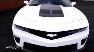 white camaro zl1 whipaddict matte white 2013 chevrolet camaro zl1 on 24 gtr