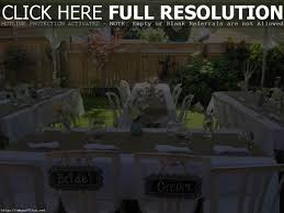wedding decoration ideas photo with stunning backyard party