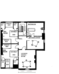 Flat Plan by Self Catering Flat In York Stakesby Holiday Flats