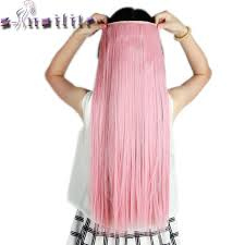 pink hair extensions s noilite ash pink 26 inches 66cm clip in hair