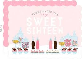 sweet sixteen invitations u0026 sweet 16 birthday party invitations