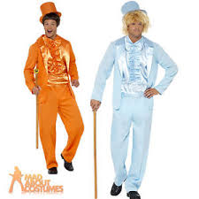 dumb and dumber costumes 1990s dumb dumber tuxedo lloyd harry blue orange fancy dress