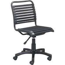 zuo modern 100542 stretchie office chair bunggie style weave