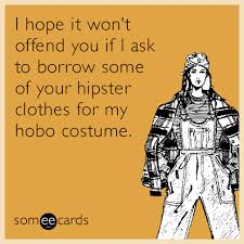 Halloween Hobo Costume Hope Won U0027t Offend Borrow Hipster