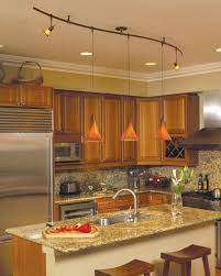 Kitchen Light Fixtures Over Island by Kitchen With Pendant Track Lighting Over Island Stylish Pendant