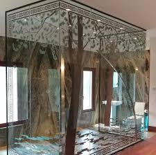 patterned glass shower doors 32 smart types of shower doors for a stylish bath
