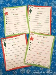 gift shopping list christmas shopping list free printable munchkins