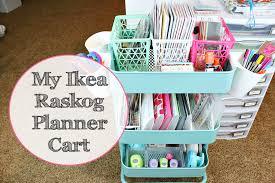 Ikea Craft Cart My Ikea Raskog Planner Cart