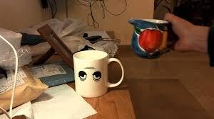 Amazing Mugs by Amazing Wake Up Eyes Magic Changing Mug Temperature Ceramic