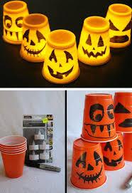 Halloween Cups 29 Diy Halloween Decorating Ideas For Kids Craftriver