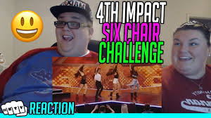 Challenge Reaction 4th Impact 6 Chair Challenge Reaction