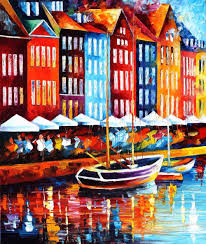 Home Decor Paintings For Sale Aliexpress Com Buy Landscape Painting For Sale Colorful Oil