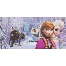 canvases wall decorations order online and cheap disney picture snow queen frozen kids mural girls boys 33x70 cm