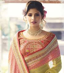 engagement sarees for designer heavy work indian engagement saree online in