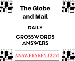 may 29 2017 the globe and mail crossword answers answerskey