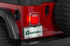jeep wrangler third brake light poison spyder 41 04 406 led 3rd brake light and license plate light