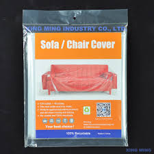 Plastic Sofa Covers For Moving Plastic Sofa Cover Sofa And Chair Bag Xing Ming Industry Co Ltd