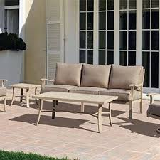 amazon com courtyard casual taupe aurora outdoor sectional to