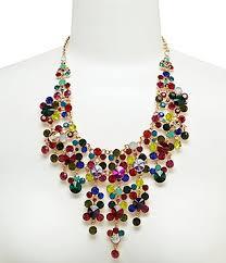 light blue statement necklace women s statement necklaces dillards