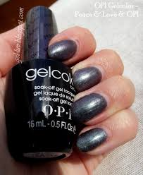 gel luv a gel polish blog peace u0026 love u0026 opi gelcolor