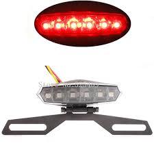 motorcycle license plate frame with led brake light motorcycle led brake light rear tail light with adjustable license