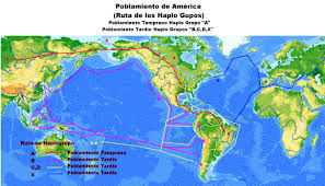 Las Americas Map by Settlement Of The Americas Full Size