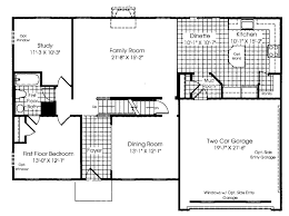 main level floor plan ryan homes verona new house info