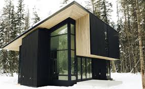 flat pack homes jetson green natural modern flat pack cabin in canada