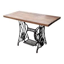 singer sewing machine table industrial desk chairish