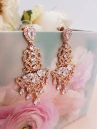 gold bridal earrings chandelier bridal earrings gold bridal earrings gold earrings