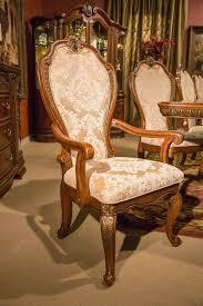 aico bella veneto dining arm chair set of 2 usa furniture