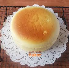 small small baker japanese cotton cheesecake