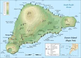 Map Of South Pacific Easter Island Mystical Idols In The South Pacific Twohermitcrabs