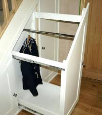 entryway storage bench slide10 custom shelving built under a