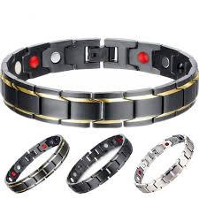 magnetic bracelet stainless images Healthy magnetic bracelet for women power germanium magnets jpg