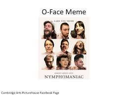 Extreme Memes - extreme memes o faces paper bags and the paratexts of nymp maniac