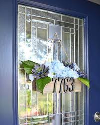 diy address planter door decor hometalk