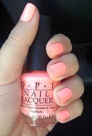 opi nail polish in