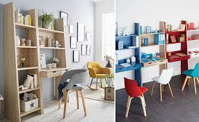 dans bureau bureau dans pièce à vivre comment intégrer un bureau dans un salon
