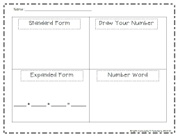 place value standard form worksheets 2nd grade place value worksheet to 9999933 make math for